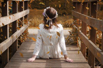 Sukienka jesienna
