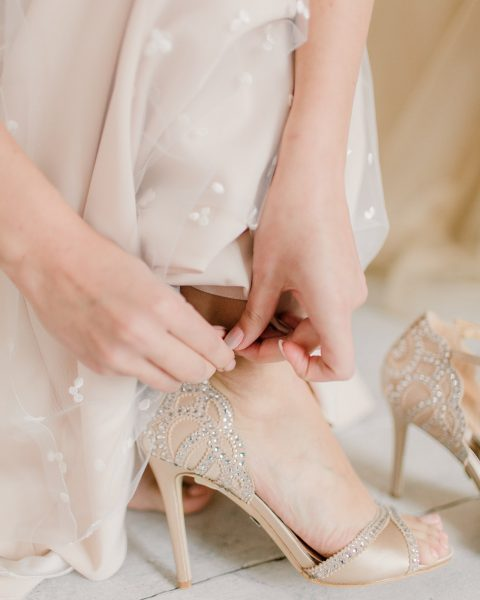 poročne čevlje
